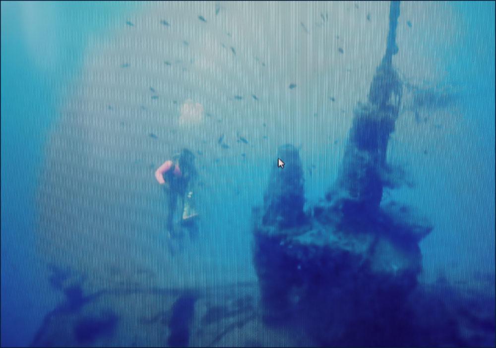 """גשר פיקוד הצוללת """"שירה"""" (צילום: אהוד גלילי)"""