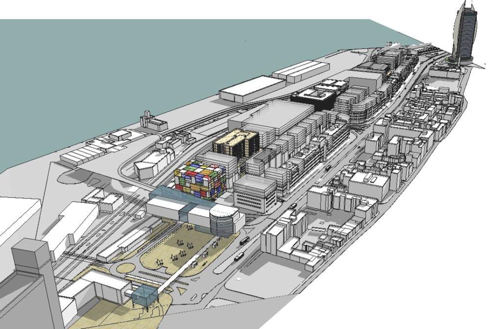 קרדיט הדמייה: ב. ברוך - י.סלמון ארכיטקטים ומתכנני ערים