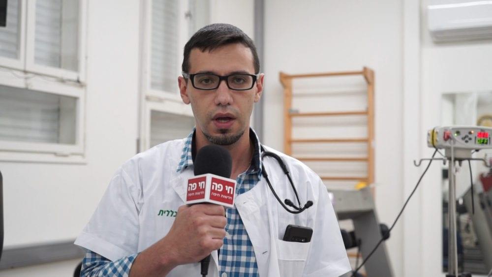 """ד""""ר ג'יהאד ח'ורי (צילום: ירון כרמי)"""