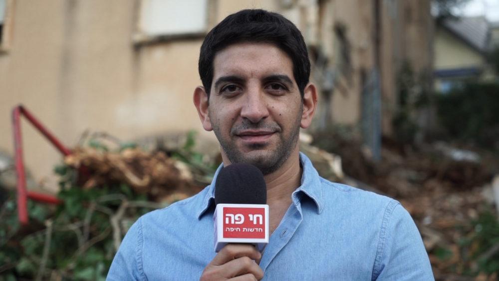 """ארז נצר - מנכ""""ל משותף בנצר ישראל • התחדשות עירונית ברחוב רחל 12 בשכונת כרמליה בחיפה (צילום: ירון כרמי)"""