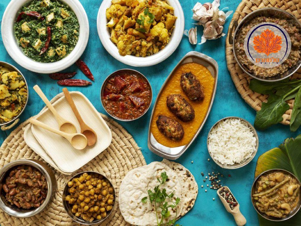 אוכל המוגש בסלמתרק (צילום: ניר ענבר)