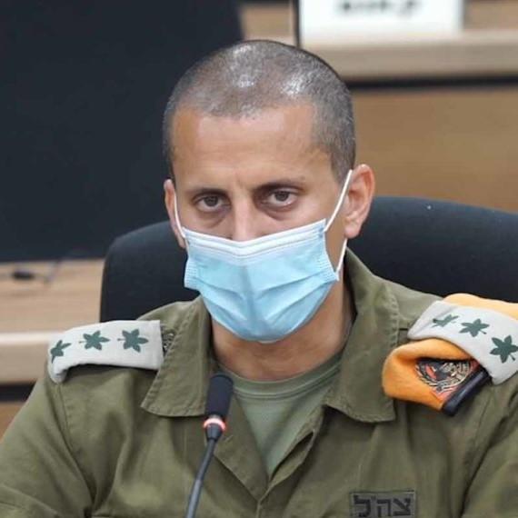 """אל""""מ אלעד אדרי מפקד מחוז חיפה בפיקוד העורף (צילום: ירון כרמי)"""