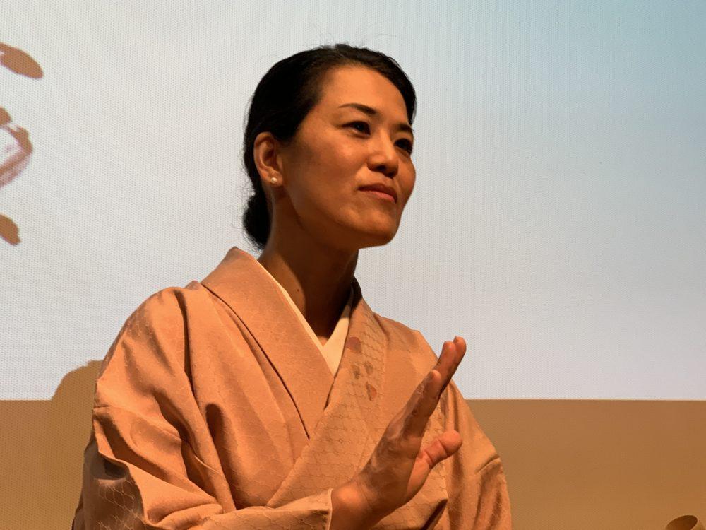 מיהו קטאוקה - אמנית יפנית (צילום: נגה כרמי)