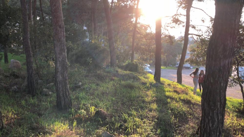 החניה - מצודת ראש מיה (צילום: ירון כרמי)