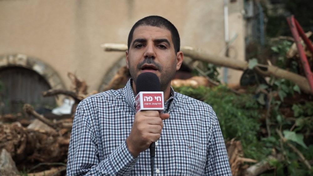 """שלומי דהן - מנכ""""ל משותף בנצר ישראל • התחדשות עירונית ברחוב רחל 12 בשכונת כרמליה בחיפה (צילום: ירון כרמי)"""