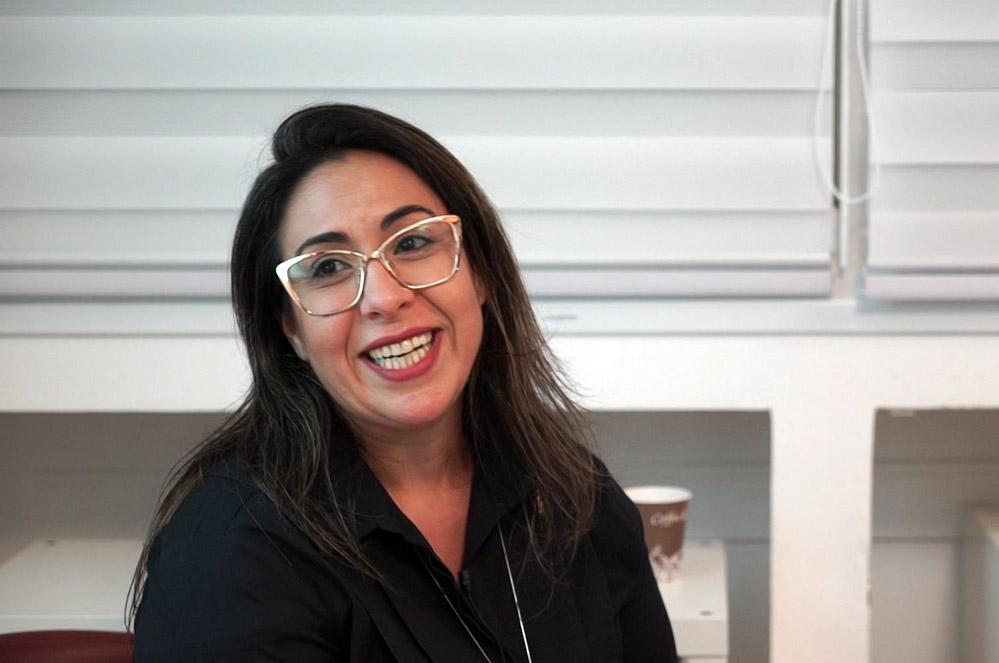 רדית דוזלר טנג'י, מנהלת סניף ויצו חיפה (צילום: ירון כרמי - חי פה)
