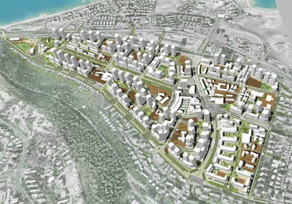 הדמיה - התחדשות עירונית בקריית אליעזר (הדמיה באדיבות ברעלי-לויצקי-כסיף אדריכלים)