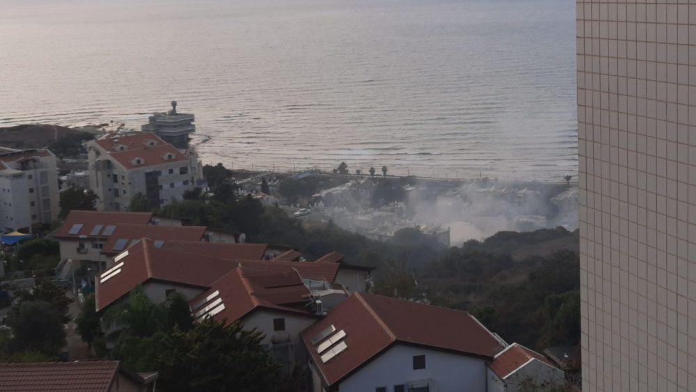 שרפה (צילום: פאביו קמעו)