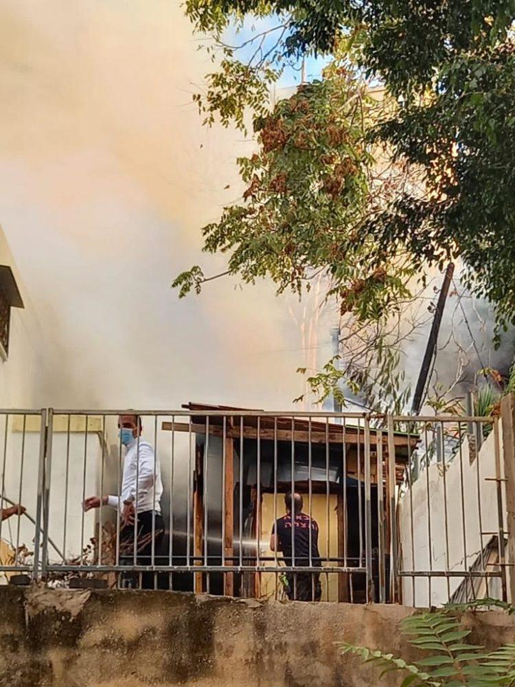 שרפה (צילום: פדואה סרוג׳י)