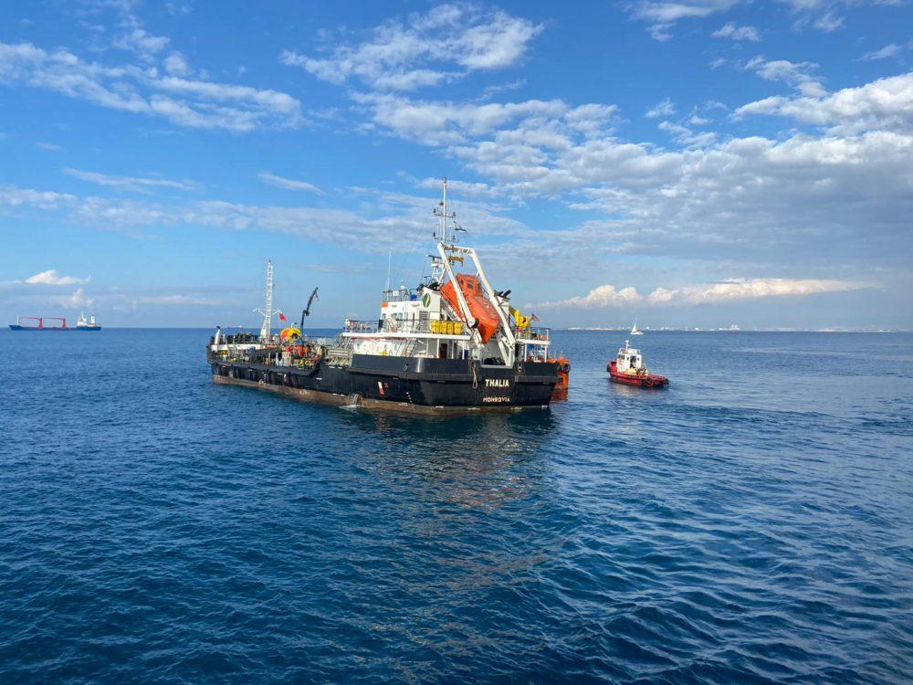 תרגיל זיהום ים (צילום: המשרד להגנת הסביבה)