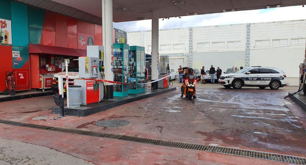 תחנת דלק | התמונה להמחשה, אין קשר לנאמר בכתבה (צילום: איחוד הצלה)