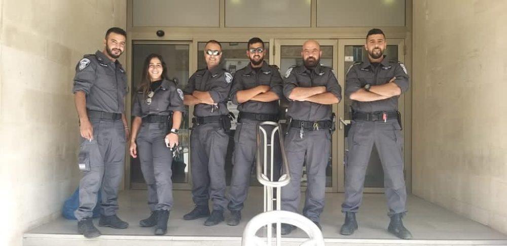 חברי סיירת הביטחון של עיריית חיפה (צילום: חבר הסיירת)