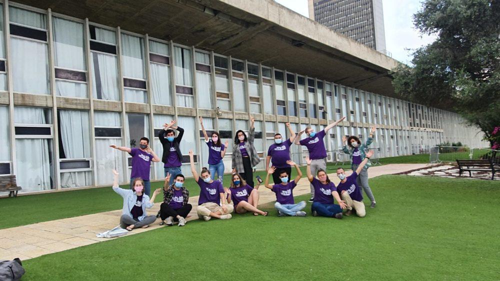 עומדים ביחד באוניברסיטת חיפה (צילום: עומדים ביחד)