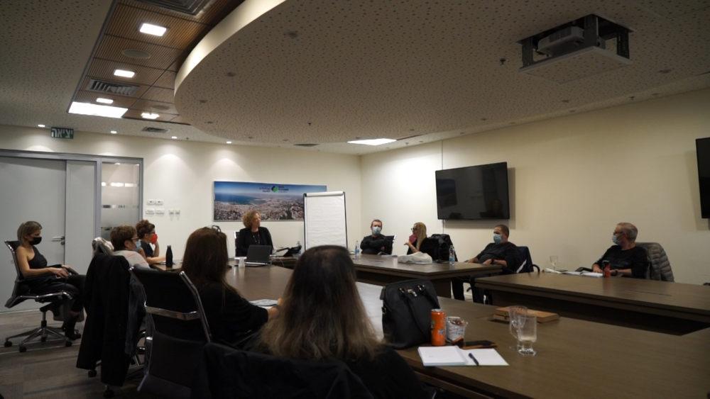 """השקת התכנית • החברה הכלכלית לחיפה - תכנית """"שלבים"""" לשילוב בני 50 ומעלה במעגל התעסוקה (צילום: חי פה בשטח)"""