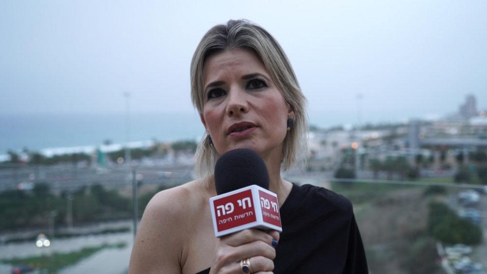 """אפרת מורג • החברה הכלכלית לחיפה - תכנית """"שלבים"""" לשילוב בני 50 ומעלה במעגל התעסוקה (צילום: חי פה בשטח)"""