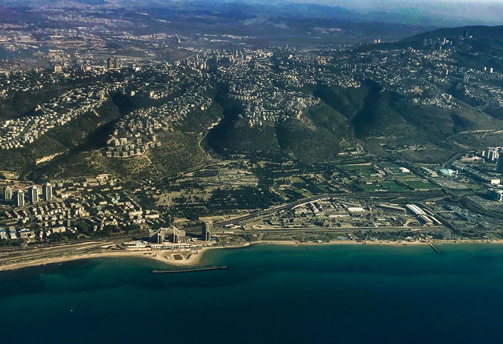 חיפה   הכרמל   חוף דדו (צילום: ירון כרמי)