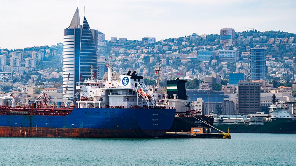 נמל חיפה | הכרמל | קריית הממשלה (צילום: ירון כרמי)