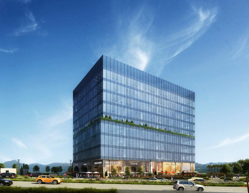 LINK (לינק) - מתחם עסקים מתקדם בשכונה חדשה בטירת כרמל (הדמיה: evolve media)