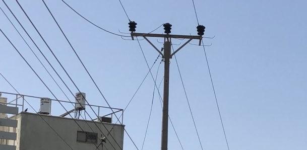 כבל חשמל (צילום: מתן כרמי)