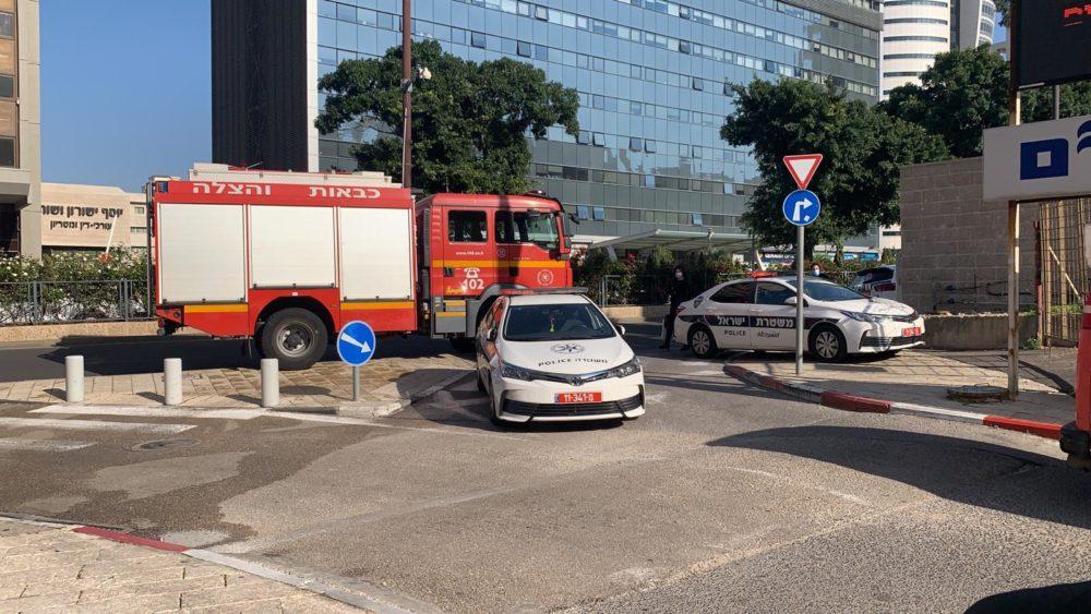 דליפת דלק (צילום: דוברות המשטרה)