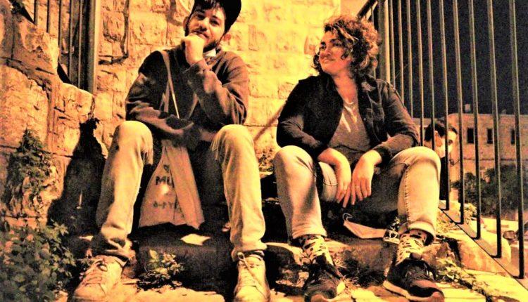 אירוע הגרפיטי – מיכל נר דוד וארז שמח (צילום: עומר מוזר)
