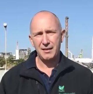 מוטי לוין (צילום מסך: חיפה כימיקלים)