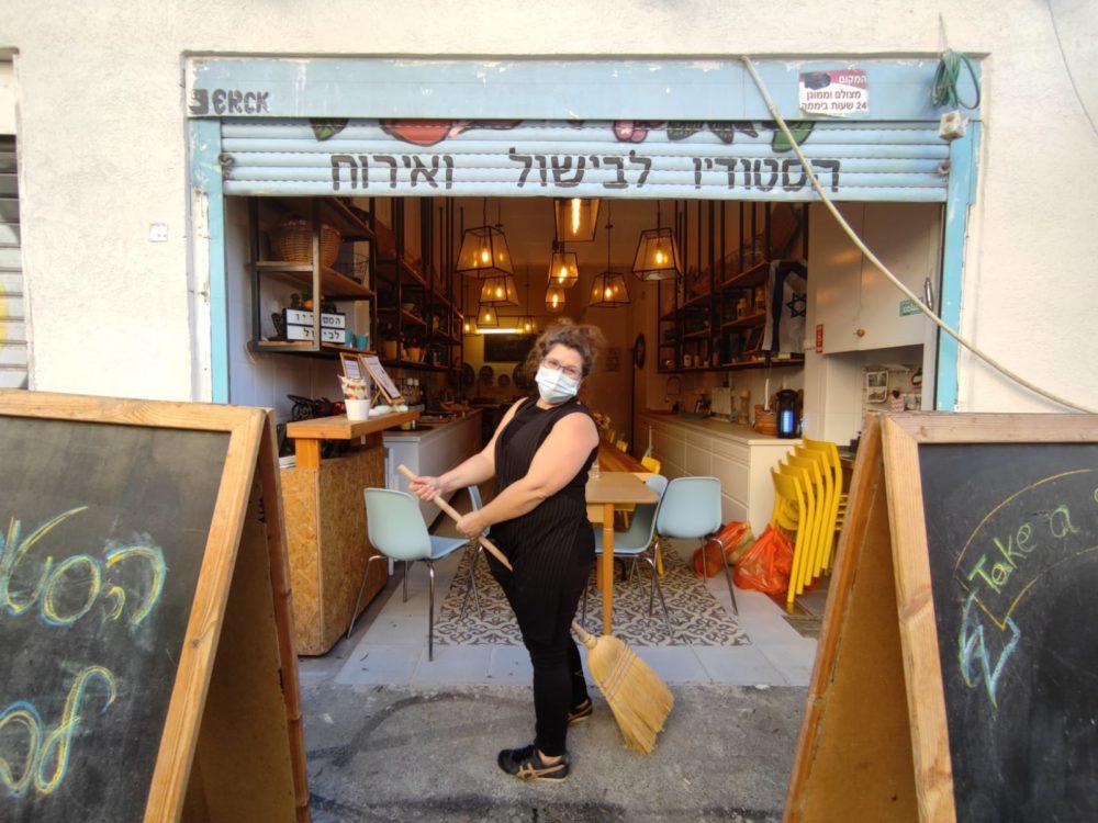 ורד פרן • שוק תלפיות בחיפה (צילום: גלעד שטיין)