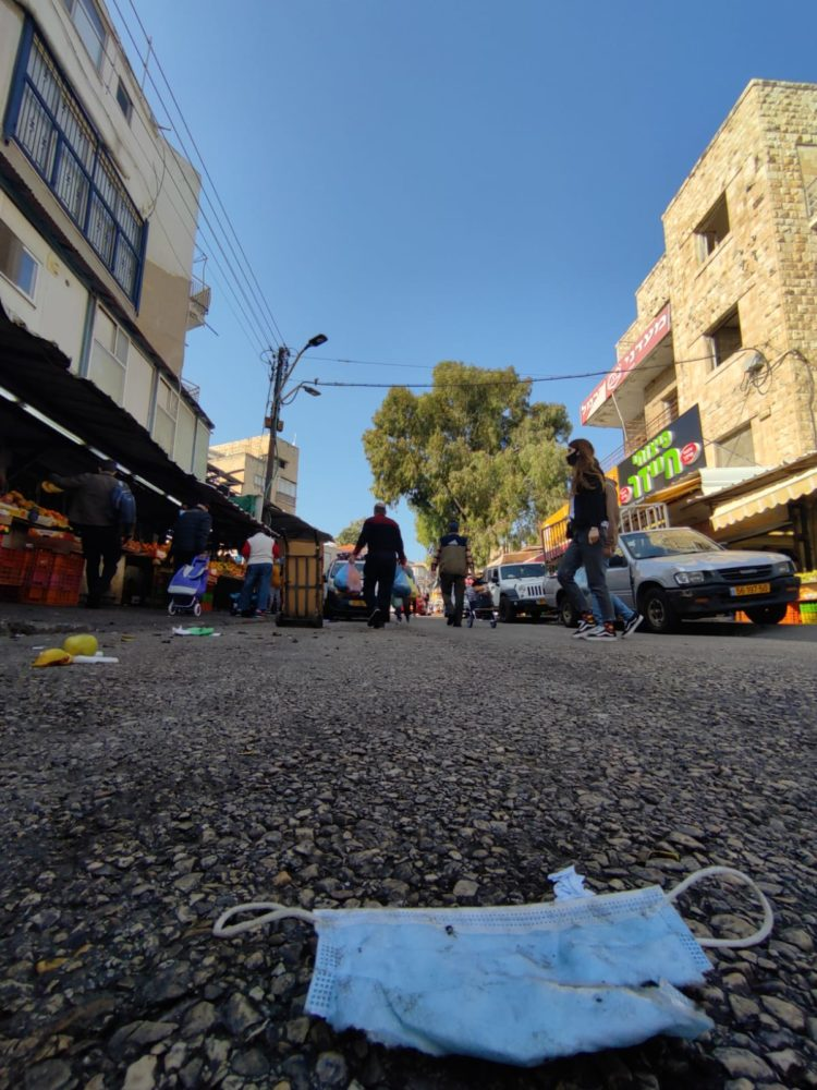 שוק תלפיות בחיפה (צילום: גלעד שטיין)