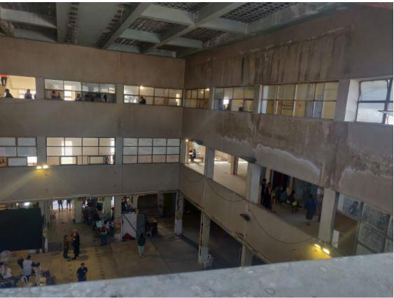 בנין שוק תלפיות (צילום: חנה מורג)