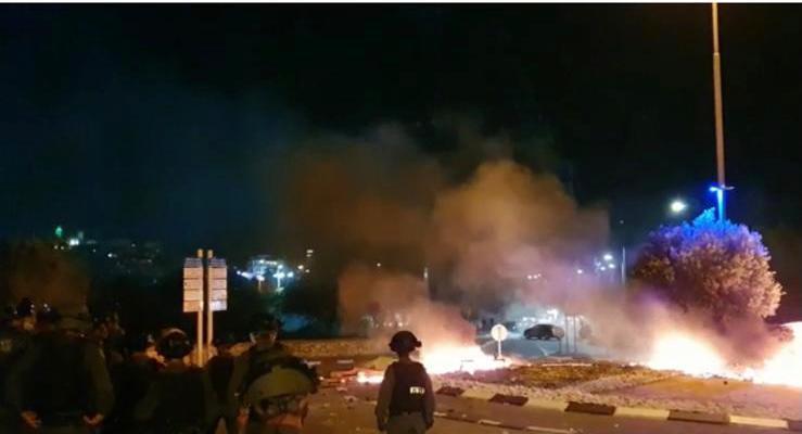 התפרעויות וונדליזם (צילום: משטרת ישראל)