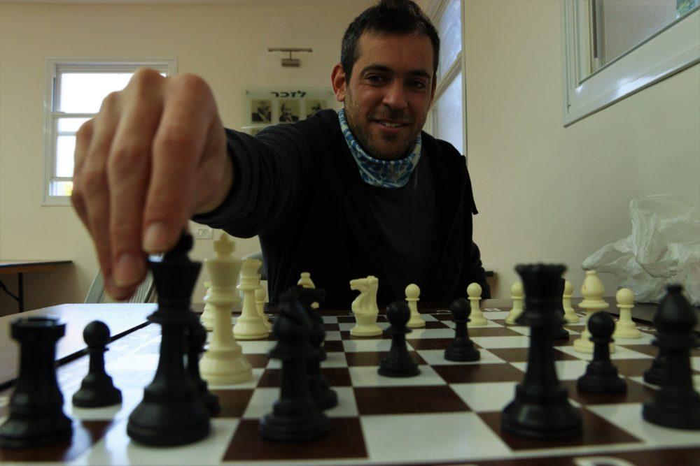 שחמט מועדון מכבי חיפה כרמל (צילום: עומר מוזר)