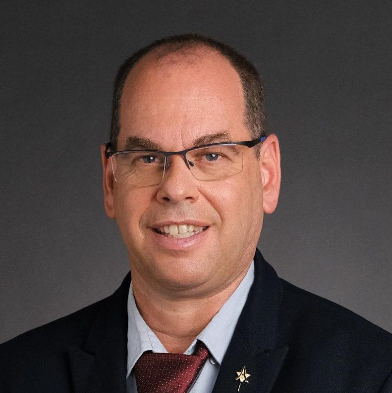 """ד""""ר בועז הוכמן, מנהל המרכז הרפואי בני ציון (צילום: מיכה בריקמן)"""