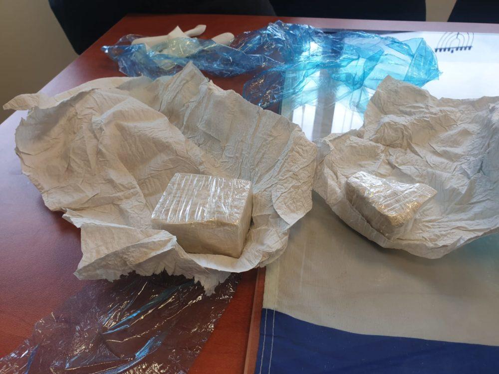 סמים שנתפסו (צילום: דוברות המשטרה)