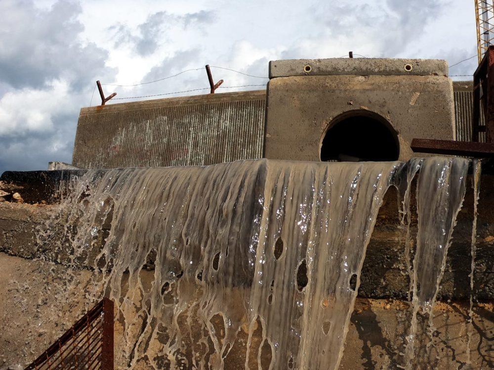 שיטפונות, מערכת ניקוז בלתי מתאימה ונזקים (צילום: מוטי מנדלסון)