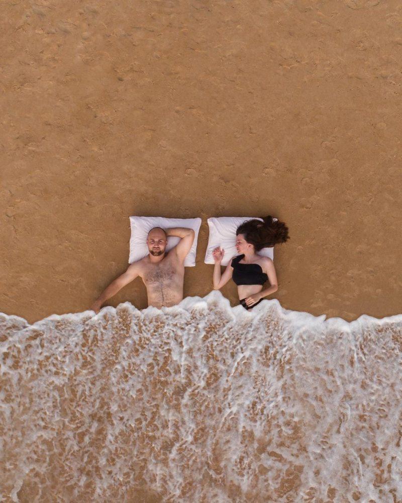 צילום של מרגריטה ופבל פרסליאק, זכו במקום השליש
