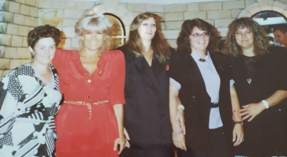 מפגש בנות דודות לפני כ-30 שנה | רחל וולך (אלבום פרטי)