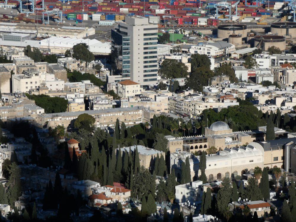 הדר הכרמל - מבט מהכרמל - חיפה (צילום: יעל הורוביץ)