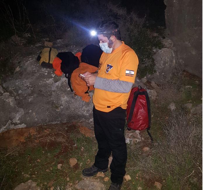 חילוץ בנחל עובדיה (צילום: יחידת החילוץ)