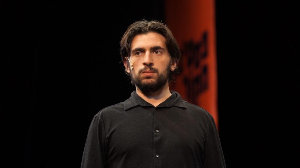 אדם גבאי בפסטיבל מקור (צילום: ירון כרמי - חי פה)