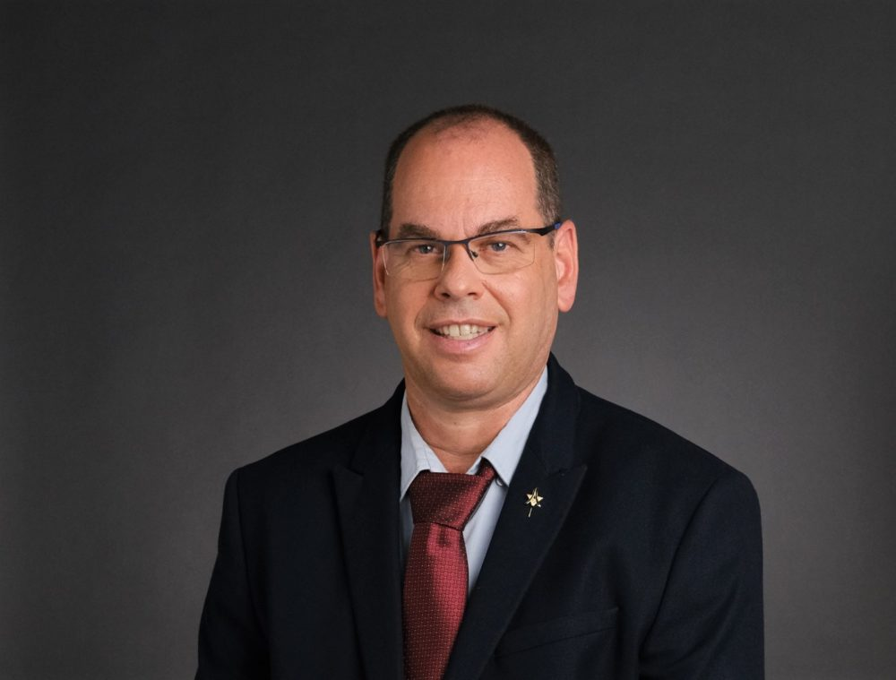 """ד""""ר אוהד הוכמן - מנכ""""ל המרכז הרפואי בני ציון (צילום - מיכה בריקמן)"""