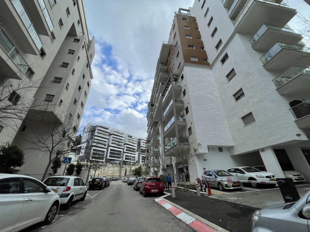 רחוב חביבה רייך בחיפה (צילום: ירון כרמי)