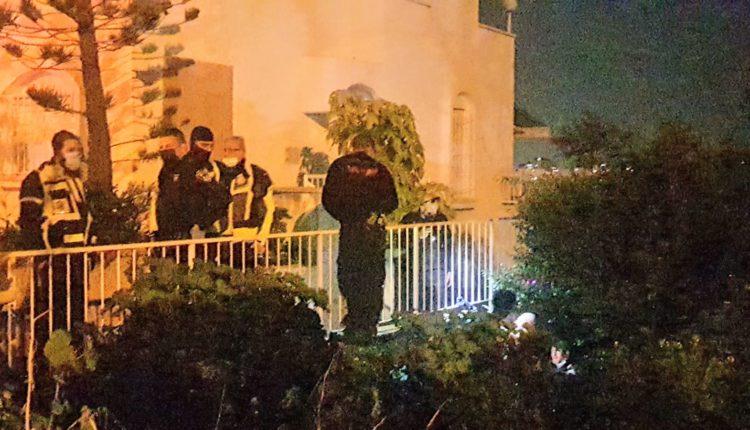 חיפושים אחר הגבר שנעלם | אלימות ברחוב נורית בשכונת ורדיה בחיפה (צילום: חי פה)