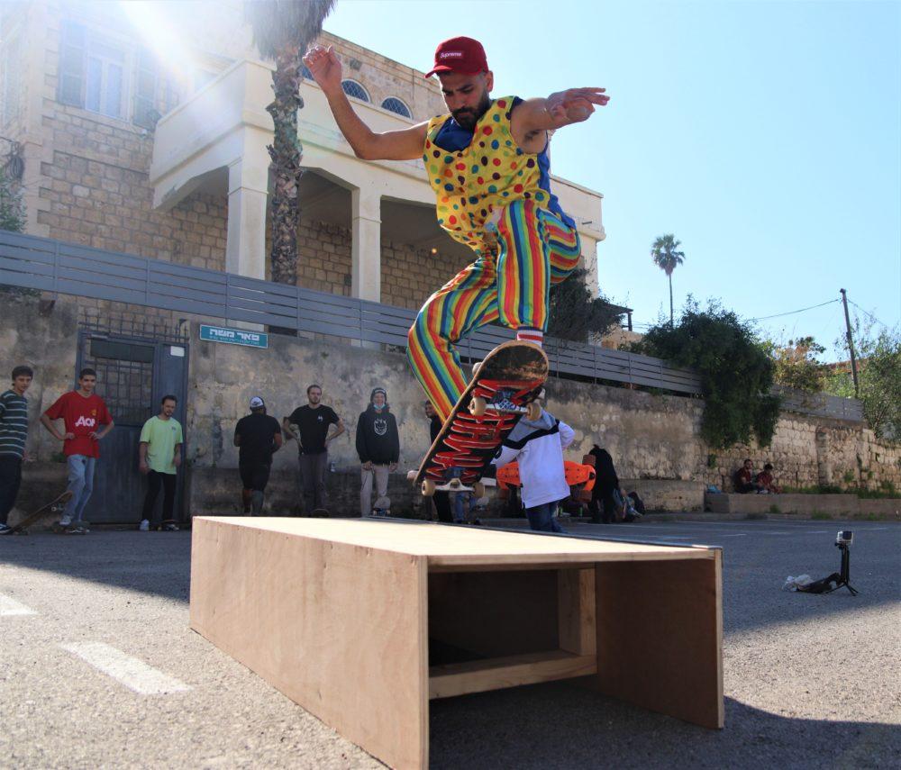 פורים בחיפה (צילום: עומר מוזר)