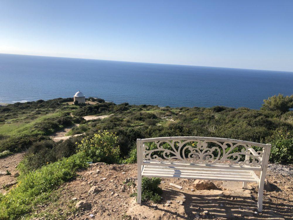 נקודת התצפית בסטלה מאריס (צילום: עדן קליימן)