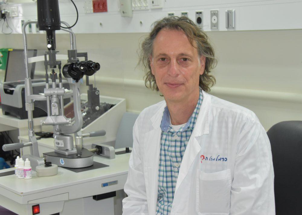 """ד""""ר מיכאל היימס (צילום: אלי דדון)"""