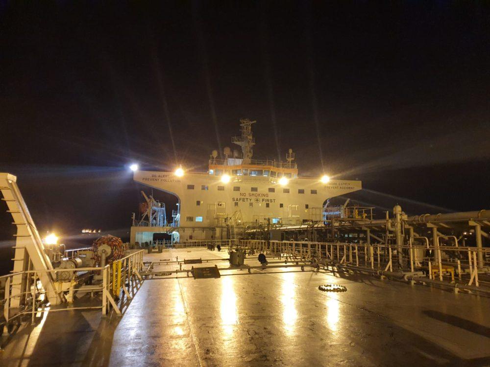 האוניה מינרבה הלן ביוון (צילום: המשרד להגנת הסביבה)