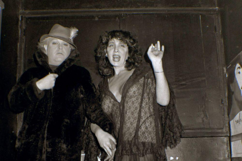 גילה גולדשטיין וזלמן שושי 1984 (צילום: אריאל סמל) | מוזיאוני חיפה