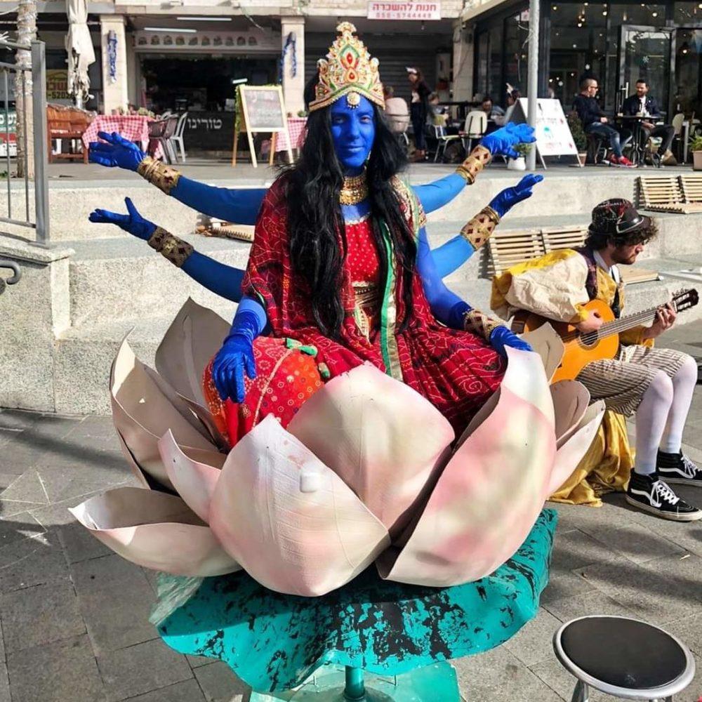 חג פורים (צילום: דוברות עיריית חיפה)