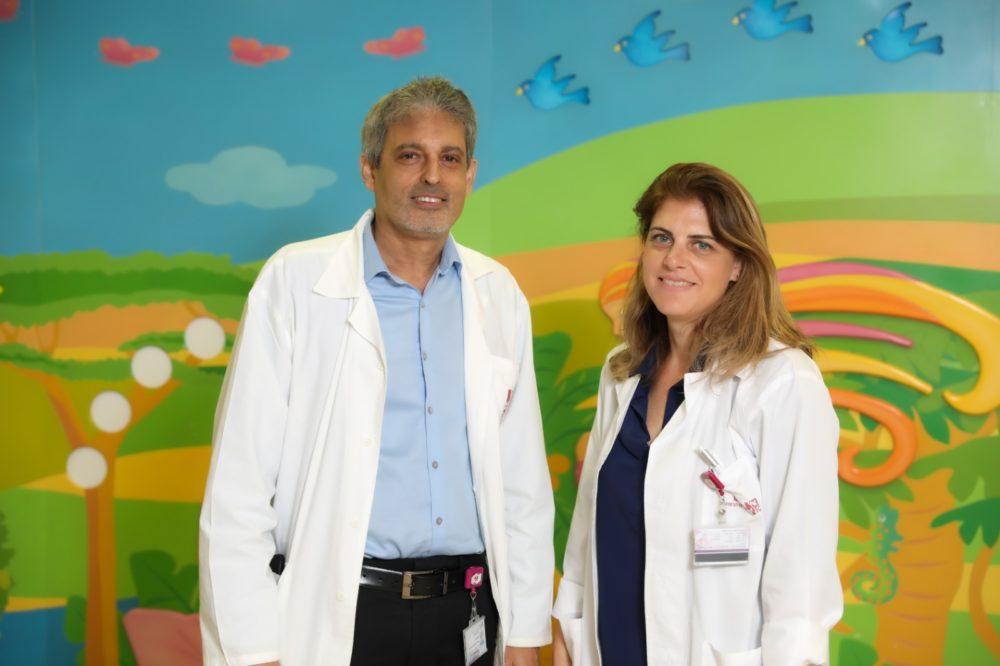 """פרופ' רון בלוססקי ודר' דנה ויטנר. (צילום: הקריה הרפואית רמב""""ם)"""