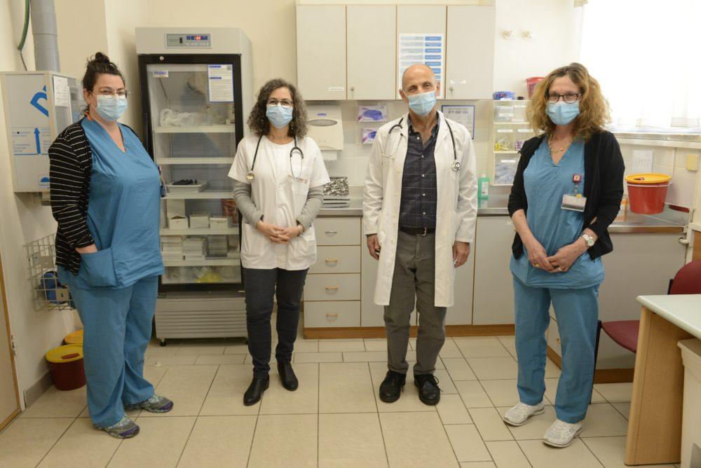 """המכון לאלרגיה, אימונולוגיה ואיידס ברמב""""ם (צילום: הקריה הרפואית רמב""""ם)"""